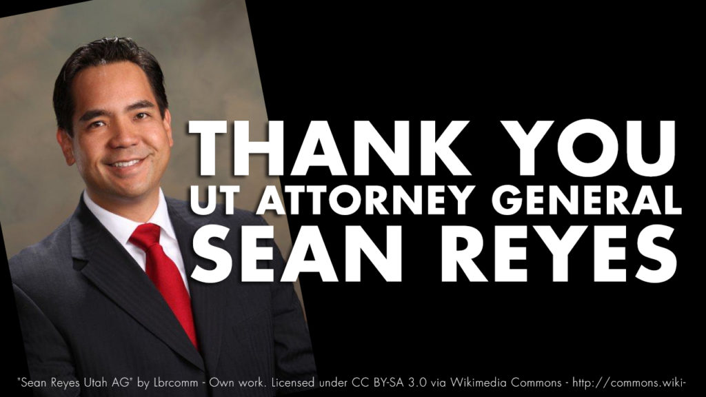 Sean Reyes Human Trafficking