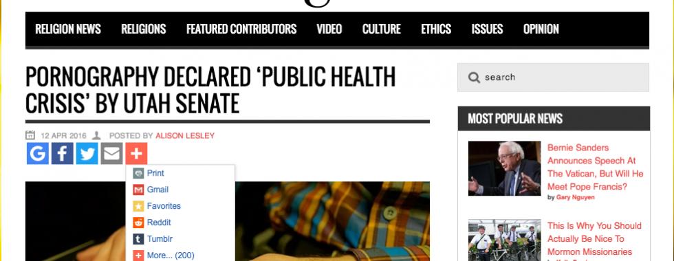 Pornography Public Health Crisis